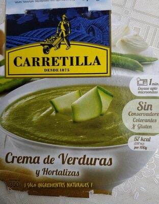 Crema de Verduras y Hortalizas - Produit