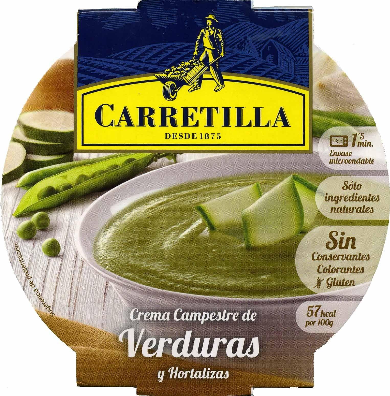 Crema de verduras y hortalizas - Product
