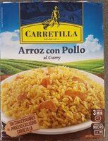 Arroz con pollo al curry - Producte - es