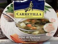 Sopa de Quinoa ecológica con Verduras - Producte