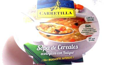 Sopa de Cereales con Bulgur Carretilla - Información nutricional
