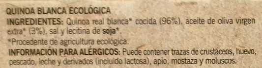 Quinoa Real Blanca - Ingredients