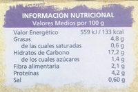 Quinoa Blanca y Roja - Información nutricional - es