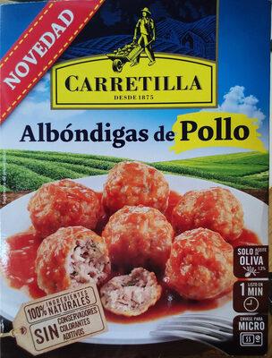 Albóndigas de pollo - Producte