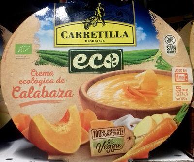 Crema ecologica de calabaza - Producto