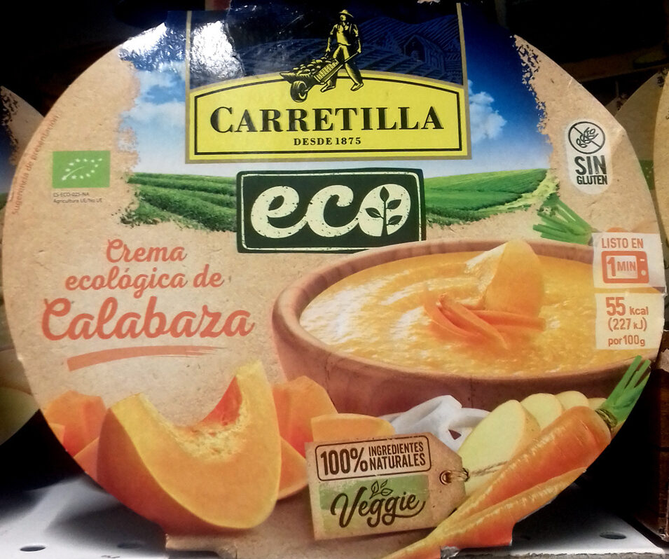 Crema ecologica de calabaza - Produit - es