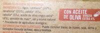 Crema ecologica de calabaza - Ingredientes