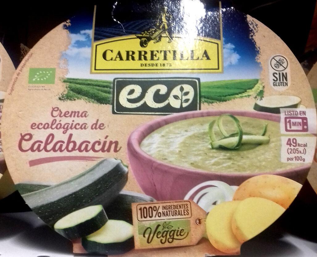Crema ecologica de calabacin - Produit - es