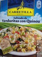Salteado de verduras con quinoa - Product - es