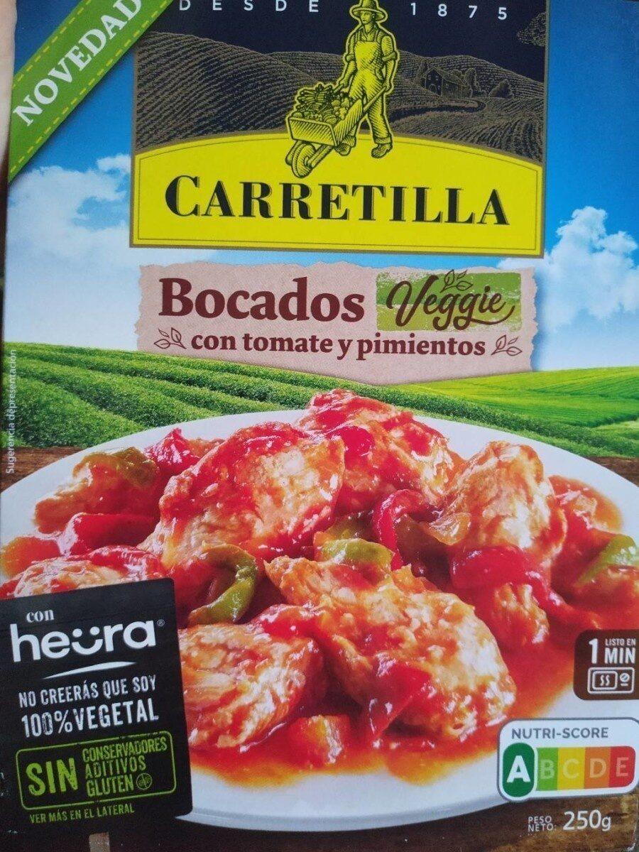 Bocados veggie con tomate y pimientos - Produit - es