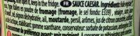 SALSA CESAR 250ML X6 CHOVI - Ingredients