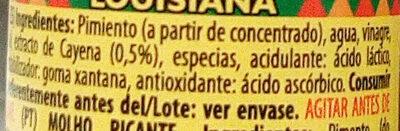 Salsa picante - Ingredients