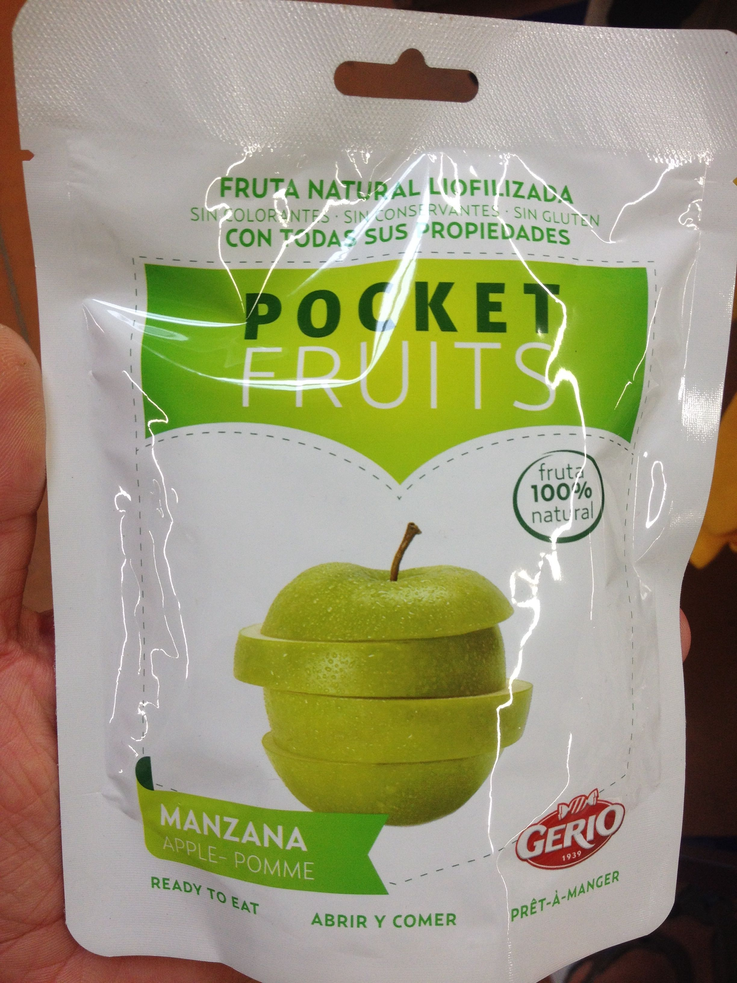 Pocket fruits - Pomme - Produit - fr