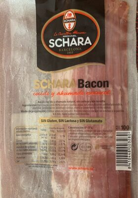 Bacon cocido y ahumado