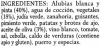 Salteado de alubias - Ingredientes - es