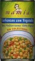 Garbanzos con vegetales - Producto