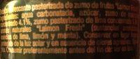 Refresco Laimon Fresh Lata 33CL - Ingredients
