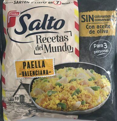 Salto recetas del mundo: paella valenciana