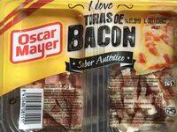 Bacon ahumado natural tiras sin gluten - Producto - es