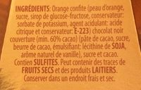 Naranjines - Ingredients