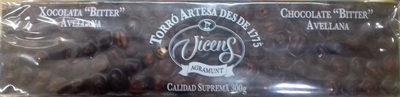 "Turrón Chocolate ""Bitter"" Avellana - Producto - es"