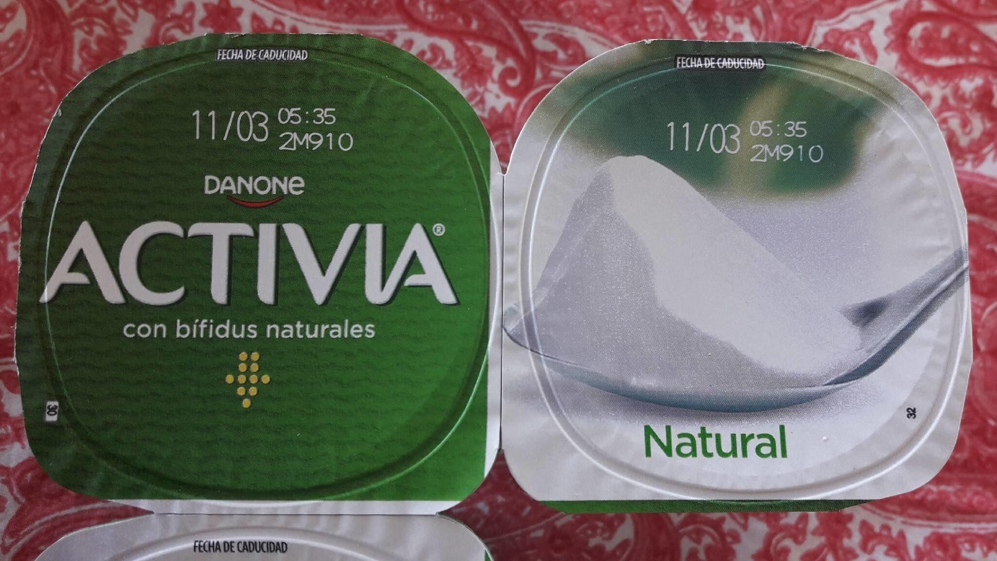 Activia con bífidus naturales (natural) - Product - es