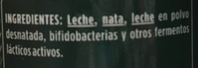 Activia con bífidus naturales (natural) - Ingrediënten - es