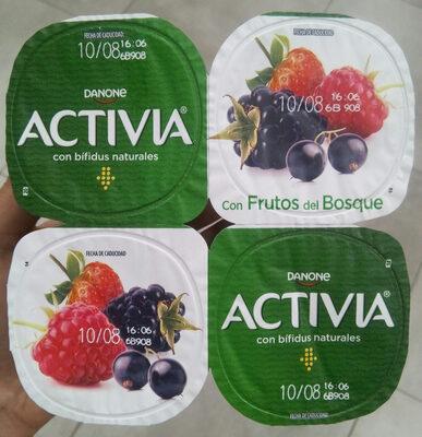 Activia con frutos del bosque - Producte
