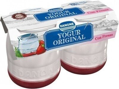 Yogur con fresas - Product - es