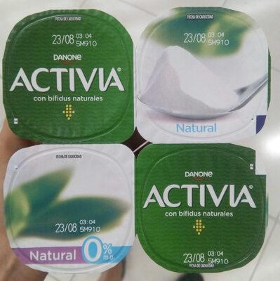 Activia bífidus natural desnatado 0% - Product - es