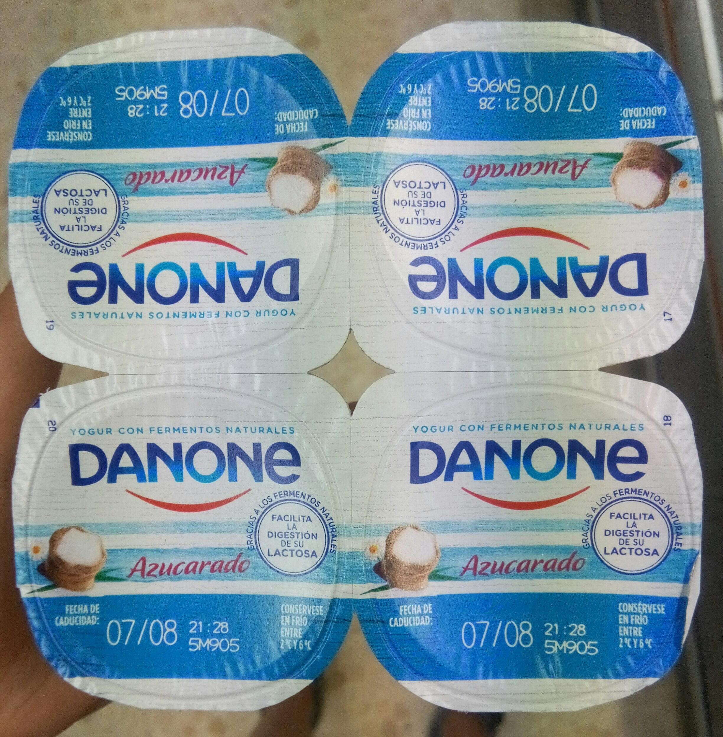 Yogur Natural Azucarado - Producto - es
