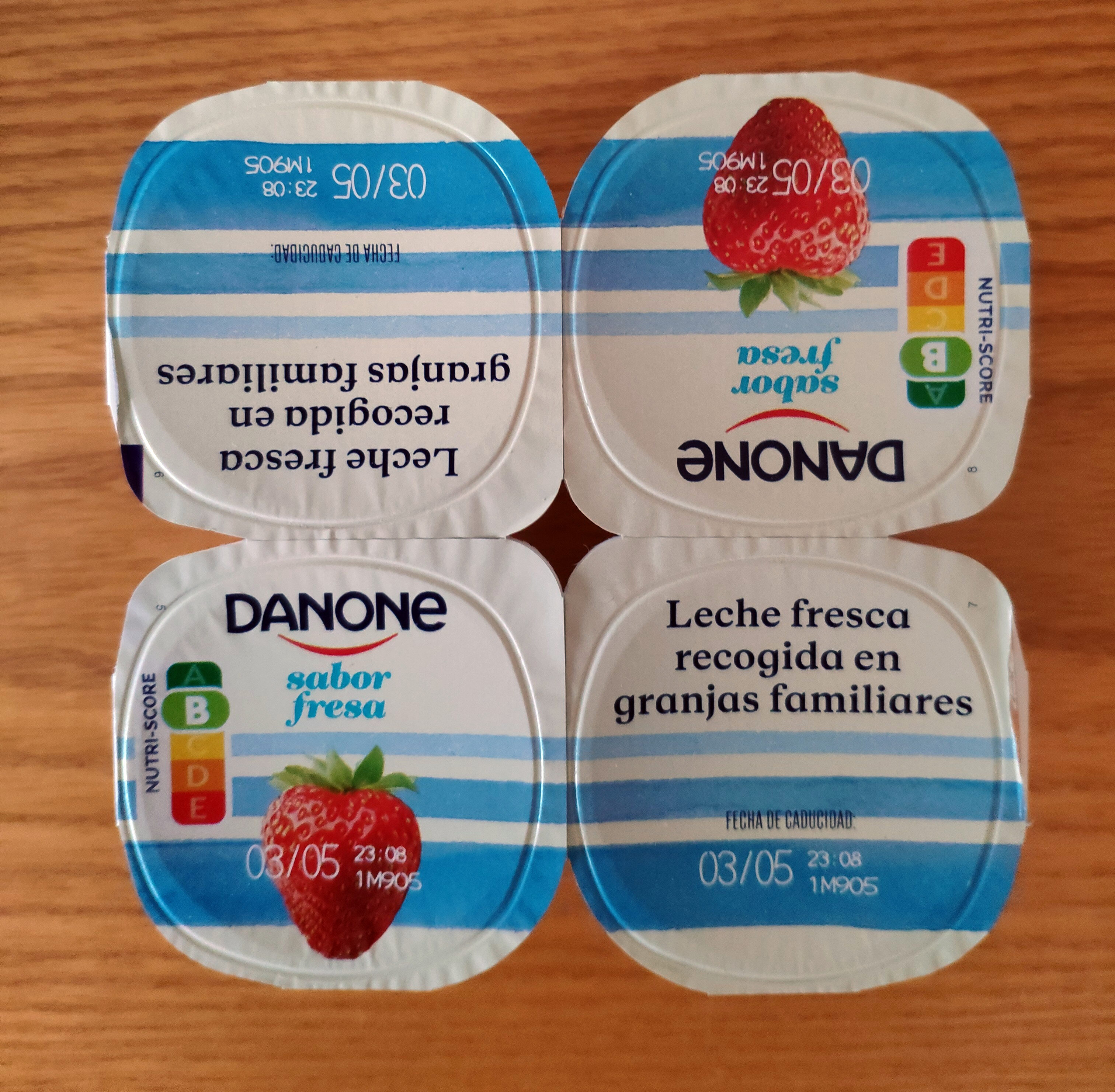 Yogur sabor fresa - Produit - es