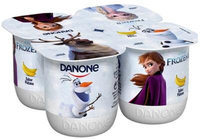 Yogur sabor plátano - Producto - es