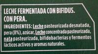 Activia con pera - Ingredients