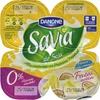 Postre de soja Savia frutas exóticas edulcorado - DESCATALOGADO - Produit