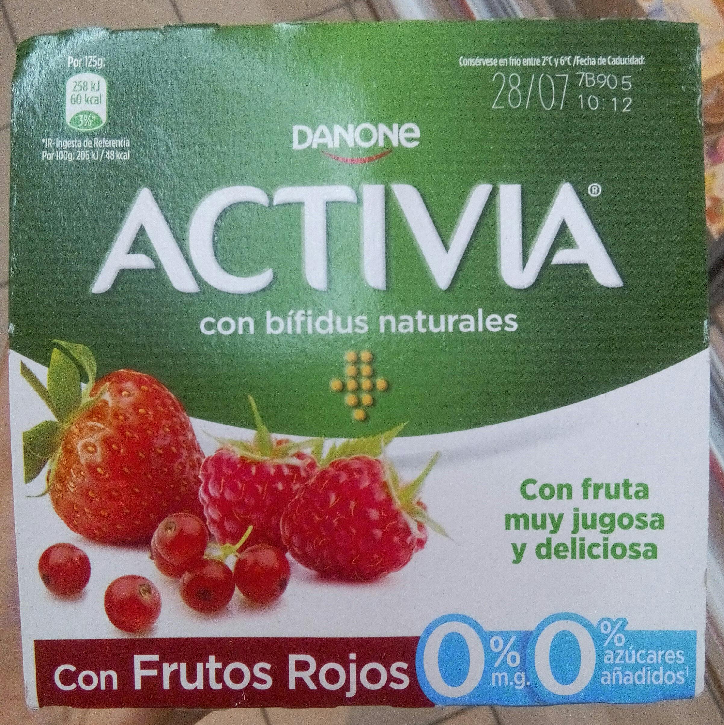Bífidus desnatado m.g. azúcar añadido con frutos - Producto - es