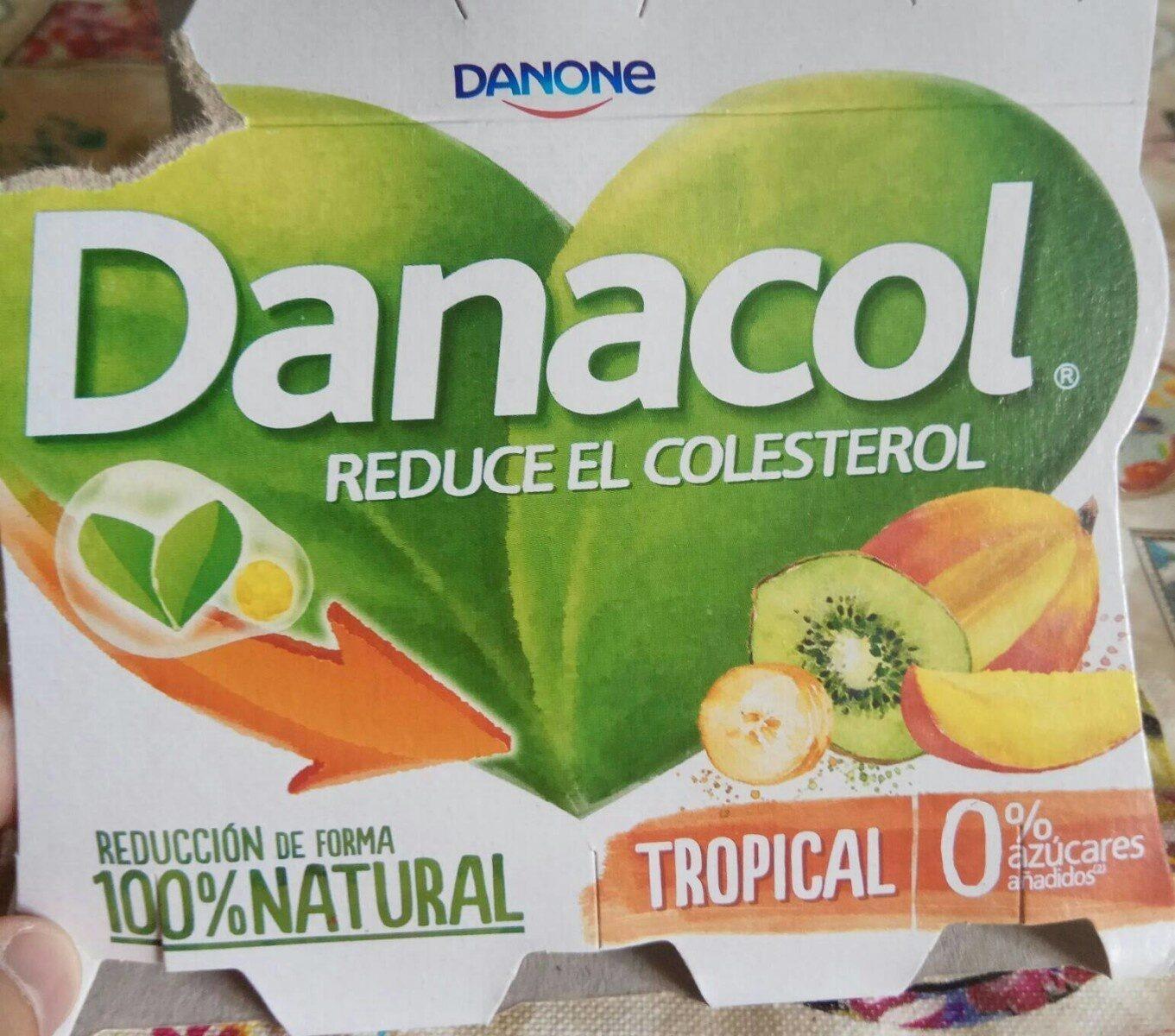 Danacol  Tropical - Producto - es