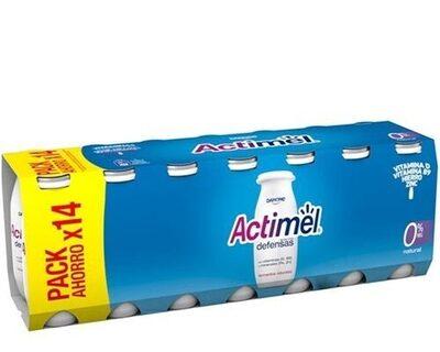 Actimel 0% Natural