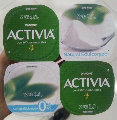 Activia 0% Natural Edulcorado - Producto