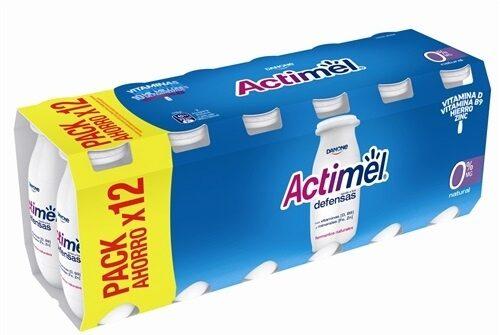 Actimel 0% Natural - Producto - es