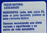 Oikos - Ingredients