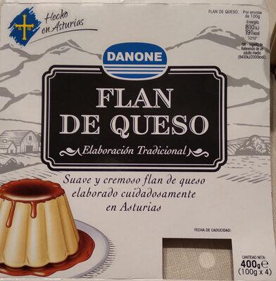 Flan de queso - Producte