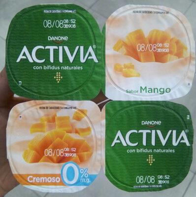 Yogur sabor mango - Produit - fr