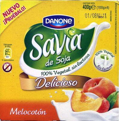 Savia de soja melocotón - Producto - es