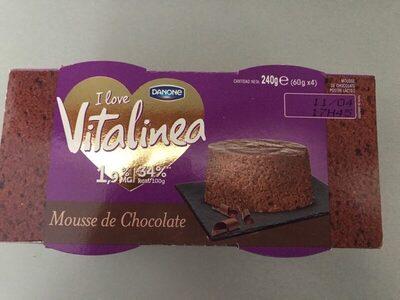Vitalinea Mousse Chocolat - Producto