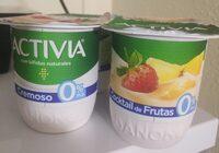 Yogurt cocktail de frutas 0% m.g. - Produkt - es