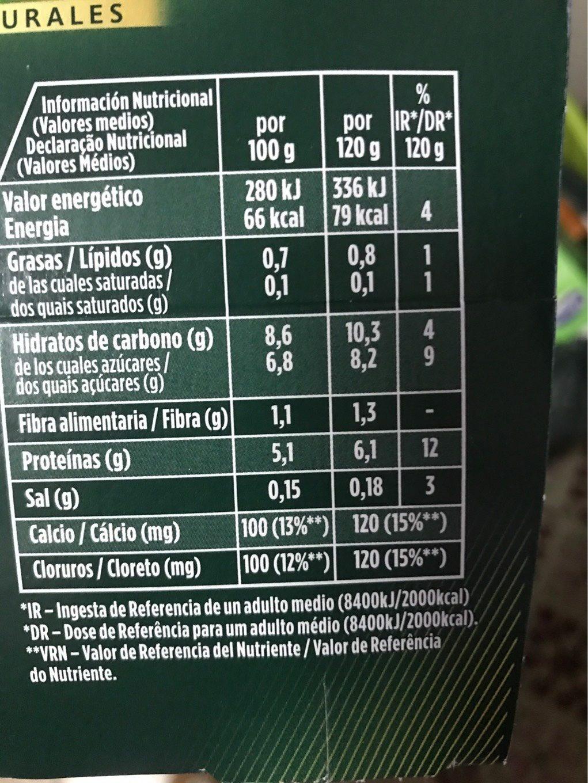 Iogurt Amb Quinoa i Llavors De Carbassa 0% Activia Fibres - Nutrition facts