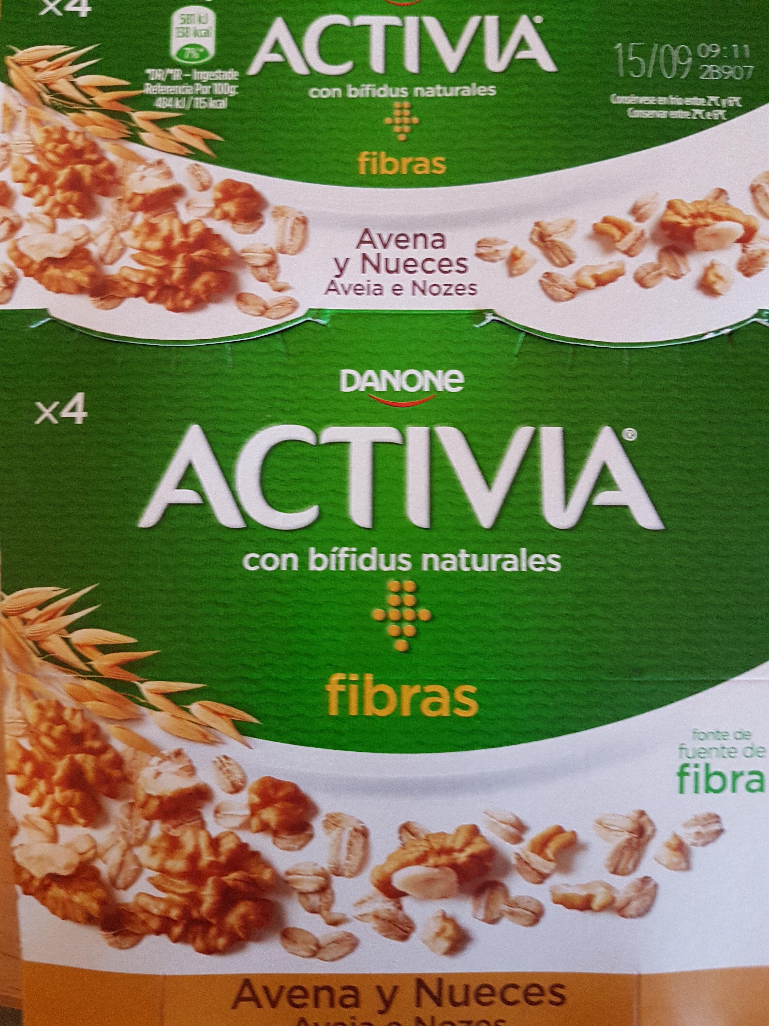 Activia Avena Nueces - Product