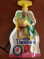 Danonino fresa-banana para llevar - Product