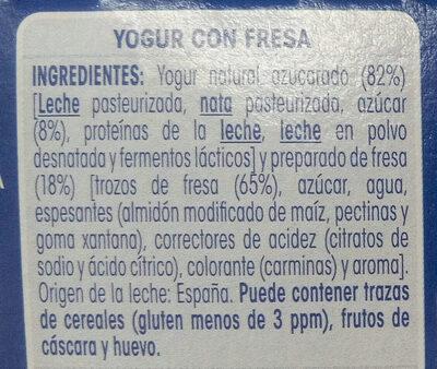 Oikos fresa - Ingredients